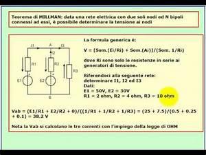 Tutorial Di Elettrotecnica  Teorema Di Millman - Lezione 7