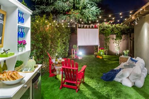diy backyard decorating ideas summer backyard diy design ideas hgtv