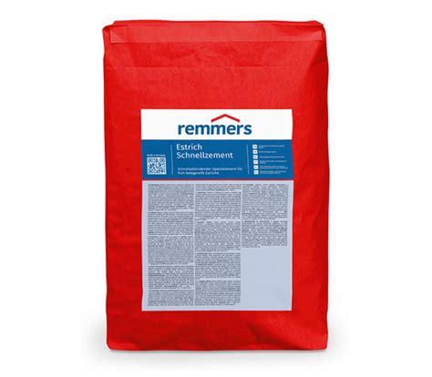 www remmers de remmers estrich schnellzement 25kg spezial bc24