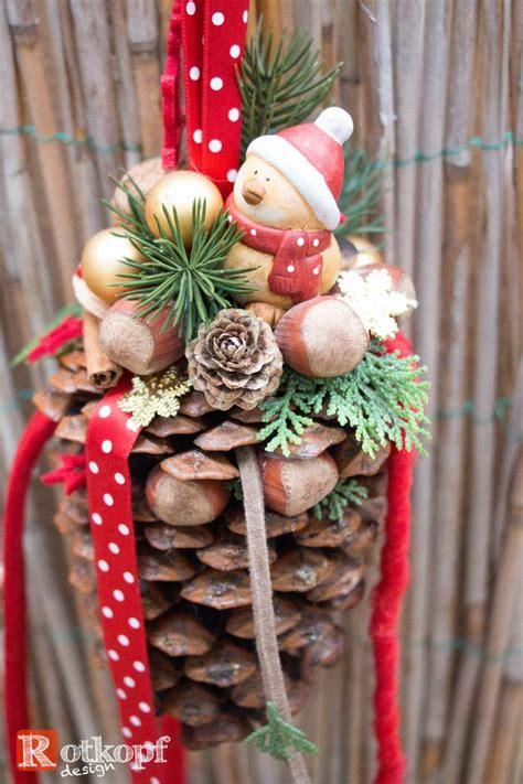 Weihnachtsdeko Zum Hängen by Weihnachtsdeko Zapfen Zum H 228 Ngen Quot Weihnachten Quot Ein
