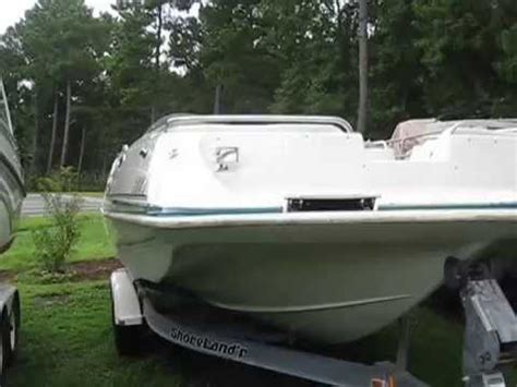 1993 Godfrey Hurricane Deck Boat by 1998 Hurricane 248 Deck