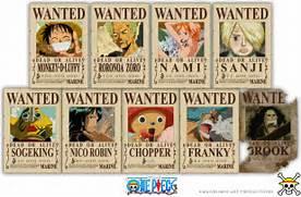 One Piece Shanks Crew ...One Piece Shanks Crew Bounty
