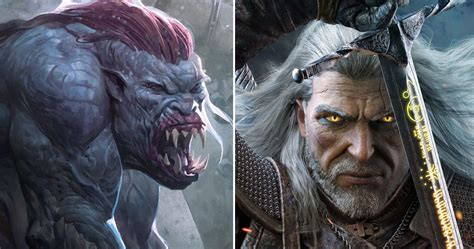 10 Terrifying Witcher Creatures (That Are Actually Secretly Good)