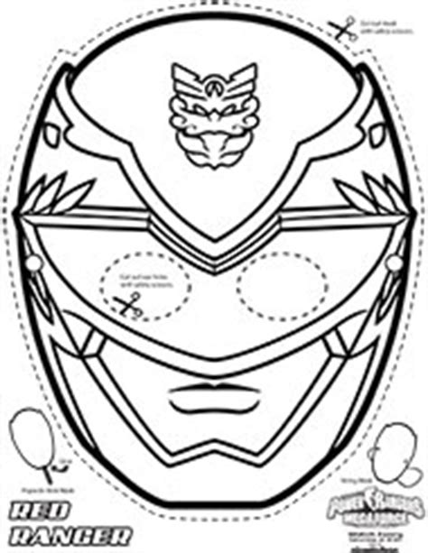 power rangers mask coloring pages eskayalitim