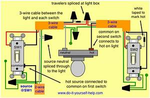 3 Way Lighting Wiring Diagram Uk