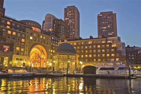 Taste The Best Of New England Boston Harbor Hotel Condé