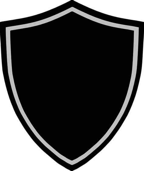 shield badge logo  vector graphic  pixabay