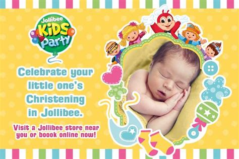 jollibee party packages  images party invite
