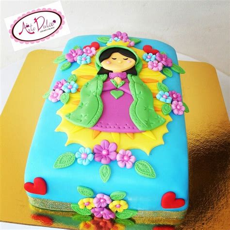 Virgen de Guadalupe Cake Anahys Cake Cake decorating