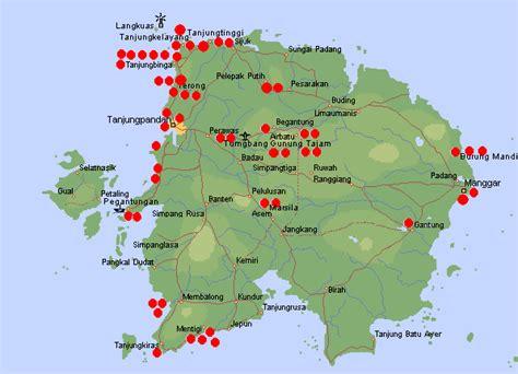 belitung island indonesia tourism