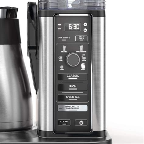 Turns hot or cold milk into silky. Ninja CM407 Specialty Coffee Maker, with 50 oz. Thermal ...