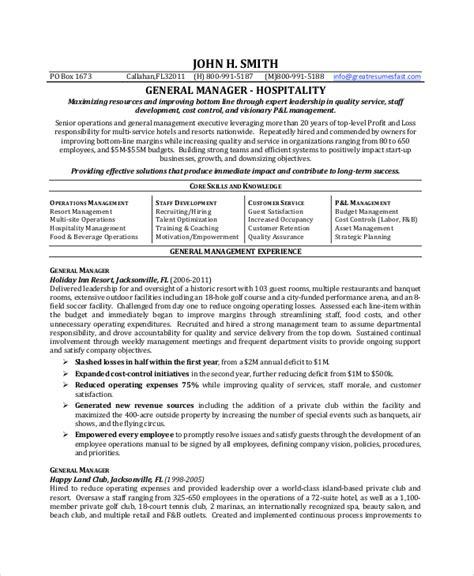 6+ Sample General Resume Objectives  Sample Templates