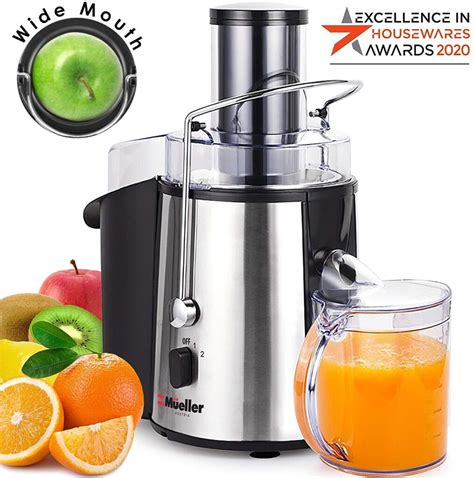 juicer under guide austria mueller 1100w ultra power