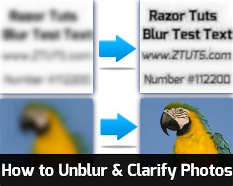 how to a how to unblur clarify a picture tips tricks and tutorials by razor