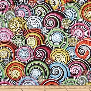Kaffe Fassett Spiral Shells Multi - Discount Designer