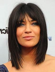 Frange Cheveux Mi Long : coiffure sur cheveux mi long avec frange omyoga ~ Melissatoandfro.com Idées de Décoration