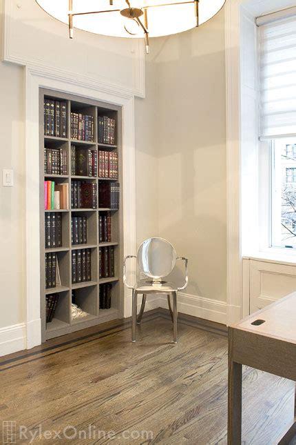 converted closet  bookcase newburgh rylex custom