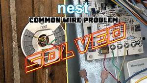 Nest Thermostat No Common Wire- Problem Solved