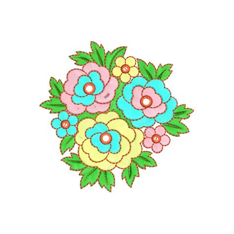 design flowers colorful flower design