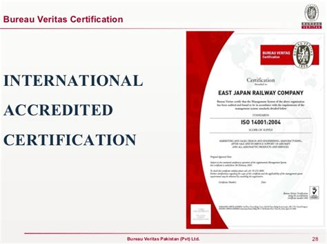 bureau veritas certification presentation for kesc
