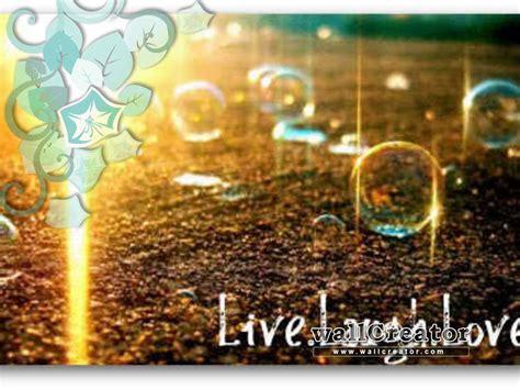 Live Laugh Love Desktop Wallpaper