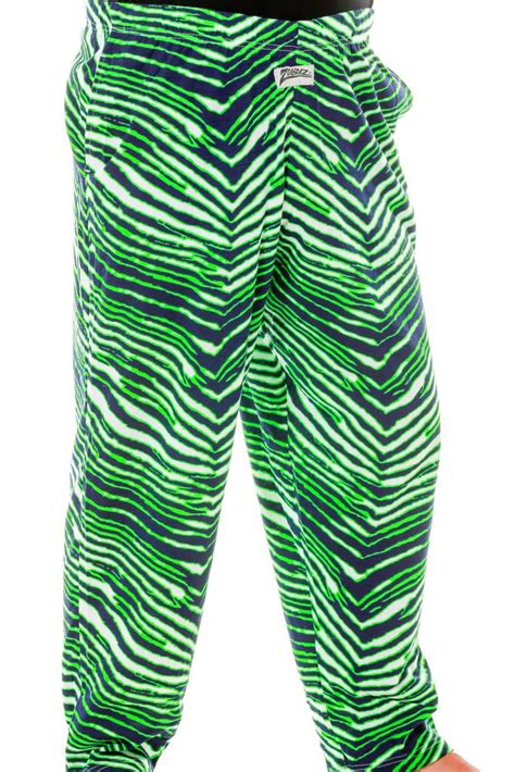 mens green  blue hammer pants zubaz green pants