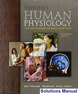 Vanders Human Physiology The Mechanisms Of Body Function