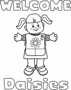 Girl Scouts Coloring Pages Az Coloring Pages