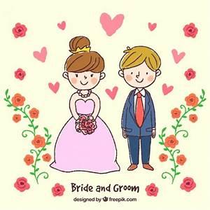 Dessin Couple Mariage Couleur : dessin d 39 un couple sur leur mariage t l charger des ~ Melissatoandfro.com Idées de Décoration