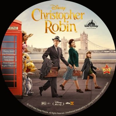christopher robin dvd covers labels  covercity