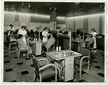 1950 opening day of The Shergis Salon in John Martins ...