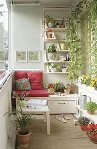 amenagement d39un balcon 25 idees deco 9 manieres d With tapis rouge avec dimension petit canapé