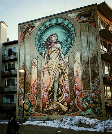 Graffiti Mural Artists by Large Scale Murals By A Shop Crew Ozonweb By Ozon Magazine