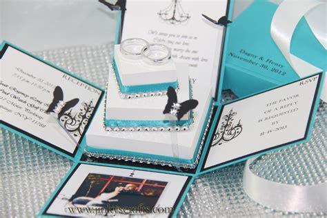 Dagny Exploding Box Wedding Invitation