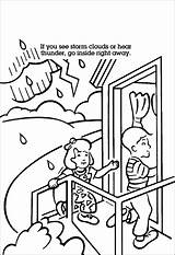 Tornado Coloring Pages Safety Books Printable Help sketch template