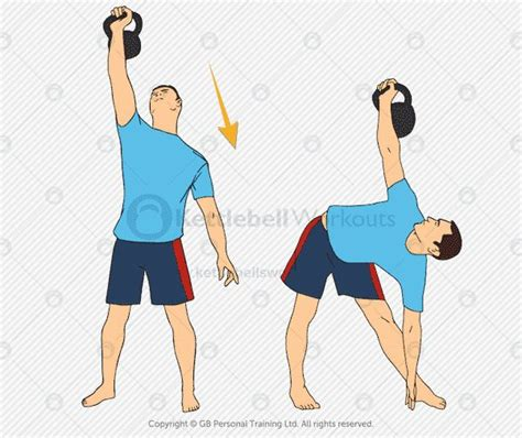 kettlebell overhead hold shoulders exercises strong