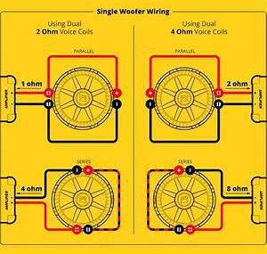 Subwoofer  Speaker  U0026 Amp Wiring Diagrams