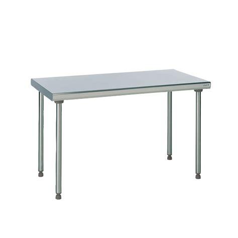 hauteur plan de travail cuisine 1 tables inox tournus équipement