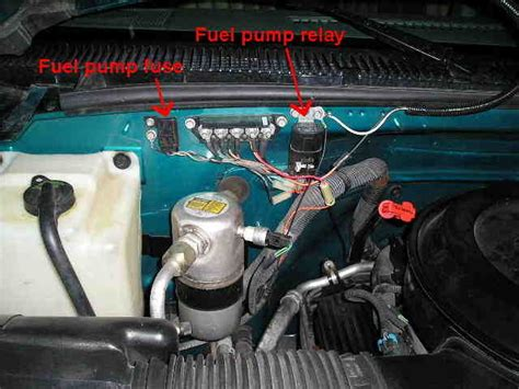 chevrolet suburban questions    relay switch