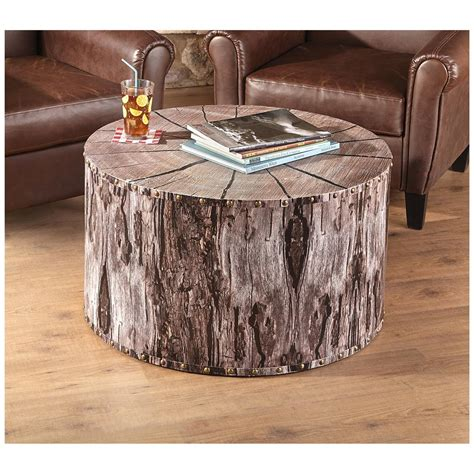 furniture winsome tree trunk coffee table  unique