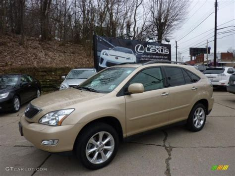 metallic lexus 2009 golden almond metallic lexus rx 350 awd 47831319