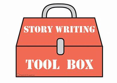 Toolkit Story Writing Tool Writers Clipart Writer