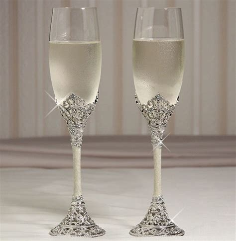 wedding toasting flutes and cake servers ta 231 as personalizadas para casamento 1198