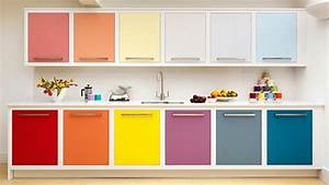 relooker sa cuisine sans trop d39efforts et a petit prix With kitchen colors with white cabinets with design stickers online