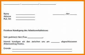 Wie Kündigt Man Eine Wohnung : 12 k ndigung arbeitsvertrag muster analysis templated ~ Lizthompson.info Haus und Dekorationen