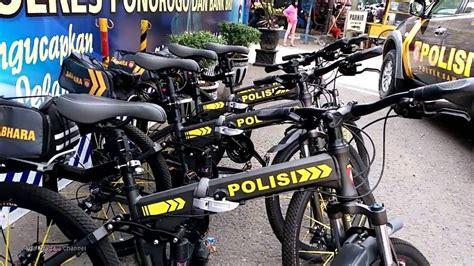 sepeda polisi keren ini dia sepeda patroli polisi terbaru