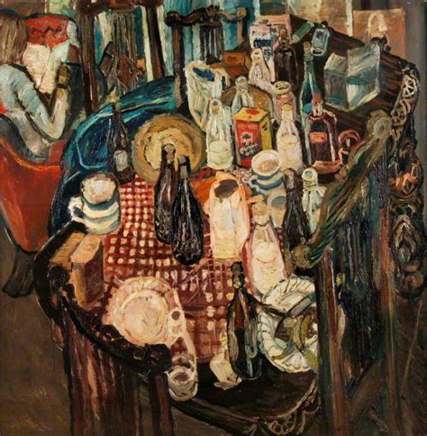 bratby kitchen sink table top 1955 bratby wikiart org 4904