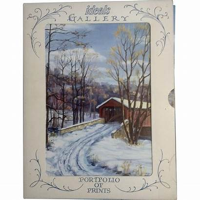 Country Scenes Prints Rubylane Ideals Dreisbach Litho