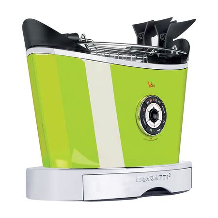 To toast, to defrost or to. Buy Casa Bugatti Volo Toaster - Green | Amara