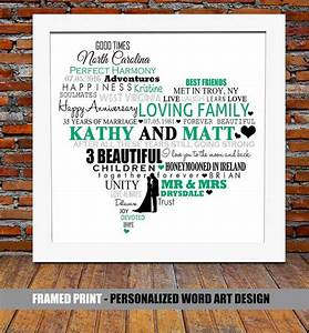 personalized 35th wedding anniversary wedding With 35th wedding anniversary gift ideas